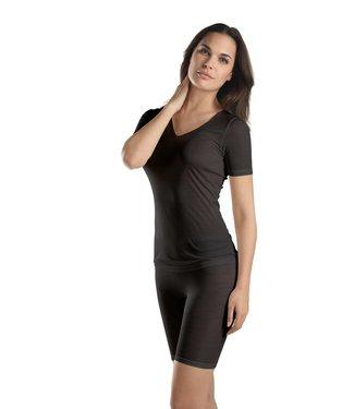 Pure Silk Shirt Short Sleeve