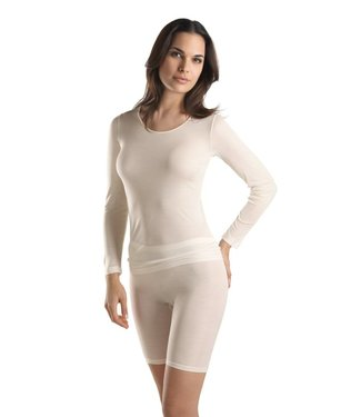 Pure Silk Shirt Lange Mouw