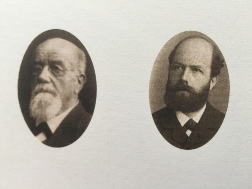 Albert Handschin and Carl Ronus