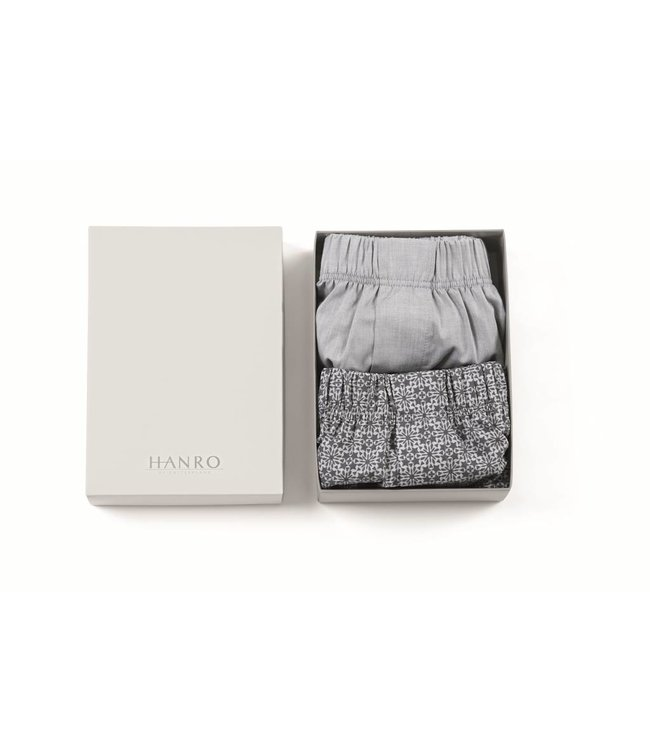Fancy Woven Boxers 2-Pack Kaleido & Grey