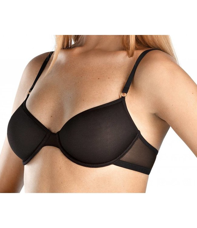 Temptation U Wire Spacer Bra Black