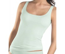 Cotton Seamless Tank Top Aquarell Green