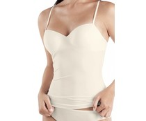 Allure Padded Bra Top Off White