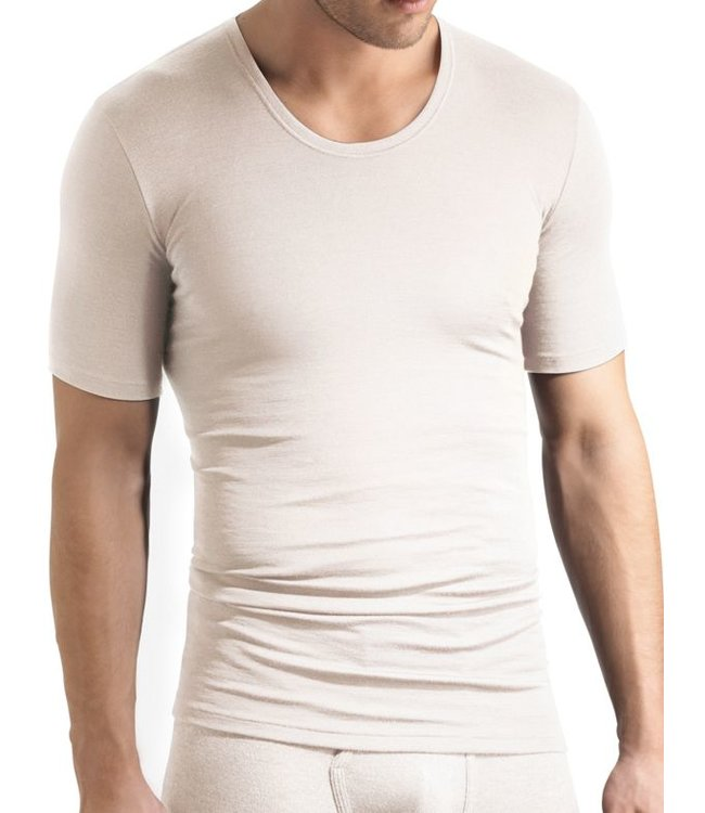 Woolen Silk Shirt Cygne