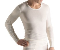 Woolen Silk Long Sleeve Cygne