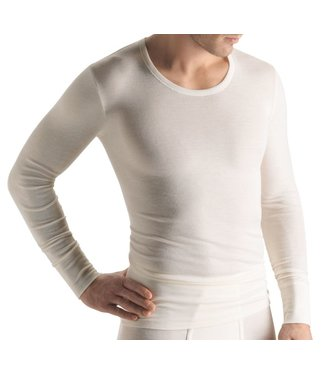 Woolen Silk Long Sleeve Cygne