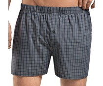 Fancy Woven Boxer Grey Check