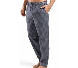Night & Day Long Pants Grey Check (075436)