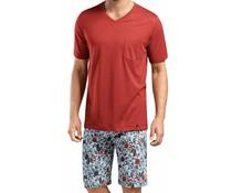 Evan Short Sleeve Pyjama Set Flower Aquarell (NIEUW)