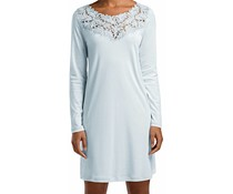 Frida Long Sleeve Gown Bel Air Blue (NIEUW)
