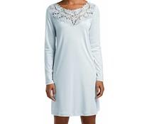 Frida Long Sleeve Gown Bel Air Blue