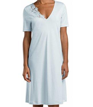 Frida Short Sleeve Gown Bel Air Blue