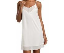 Leah Spaghetti Dress Off White