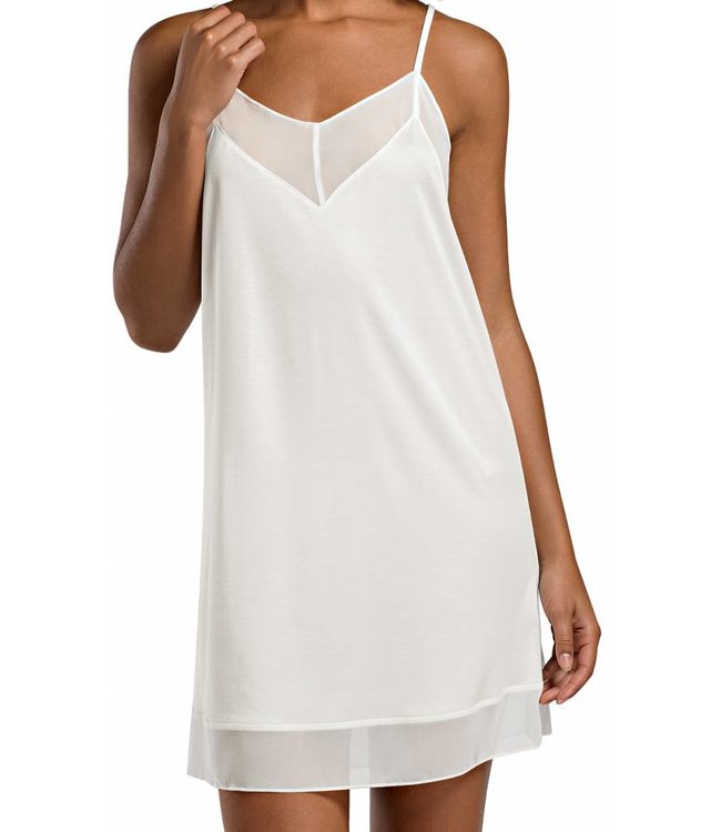 Leah Spaghetti Dress Off White