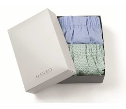 Fancy Woven Boxers 2-Pack Mini Floral & Mini Point (074014)