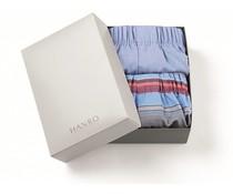 Fancy Woven Boxers 2-Pack Horizontal & Blue (NIEUW)