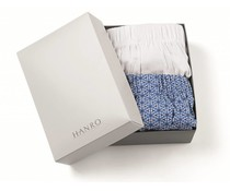 Fancy Woven Boxers 2-Pack Graphic Flower & White (NIEUW)