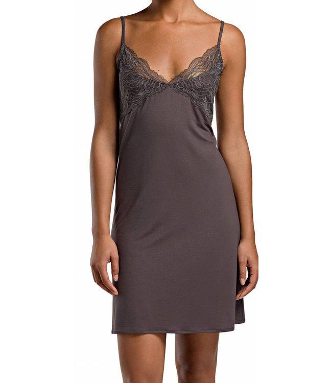 Greta Spaghetti Dress Brownstone