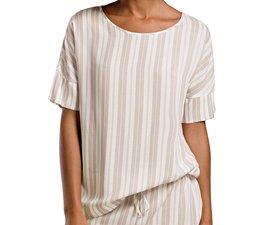 Lara Shirt Jaquard Stripe (076172)
