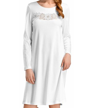 Rosalie Long Sleeve Gown White