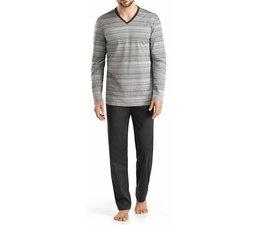 Leandro Long Sleeve Pyjama Set Flamé (075522)