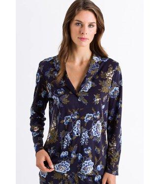 Zahra Long Sleeve Shirt Big Flower Print (NIEUW)