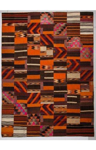 Kelimshop kelim patchwork tapijt 410x302 cm