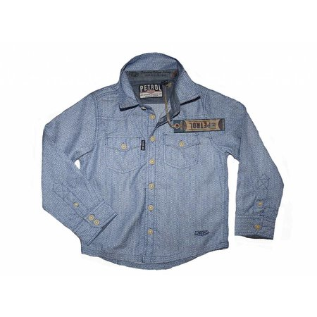 Petrol Industries overhemd Blue Jay