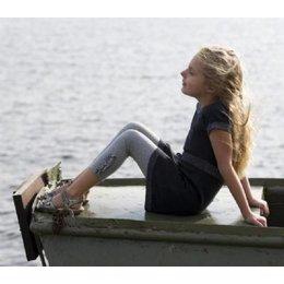 Bonnie Doon legging Cascade grey