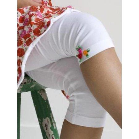 Bonnie Doon Slim Fit Rose Capri