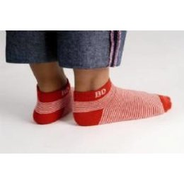 Bonnie Doon regatta stripe short sock