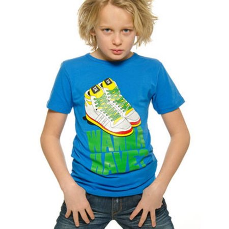 Funky XS shirt Sneaker boy