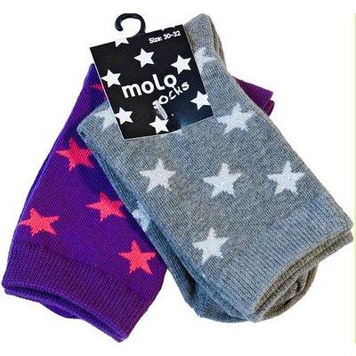 Molo sokken Nesi 2-pack Fairy purple