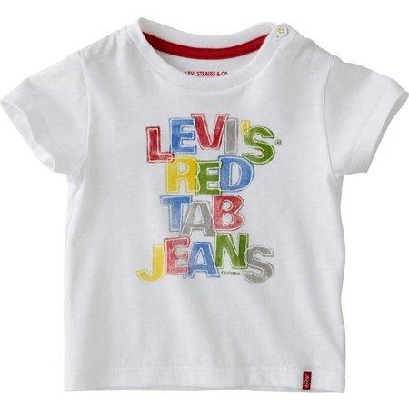 Levi's baby shirtje Caden white