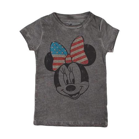Relaunch shirt Minnie Mouse strik studs