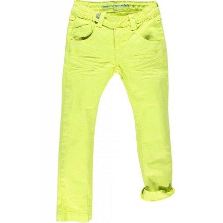 Moodstreet hippe broek citroen geel