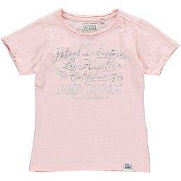 Petrol Industries girls shirt pastel pink
