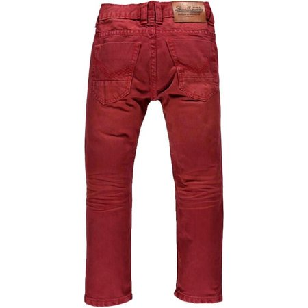Petrol Industries stoere rode jeans Jagger