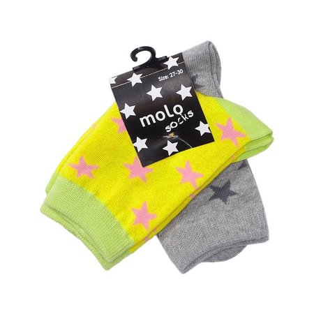 Molo 2-pack sokken Nesi Lemon