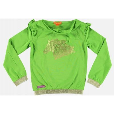 Kidz-Art shirt bright green Paard