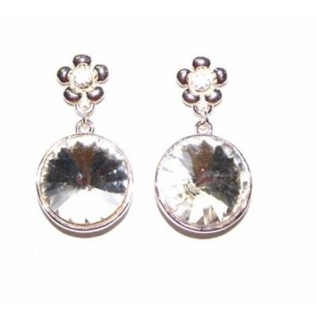 Dames oorbellen Sparkling Diamond