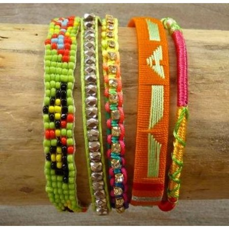 LOVE IBIZA armband Happiness Apple