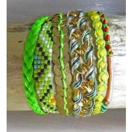 Love Ibiza LOVE IBIZA armband Passion Green
