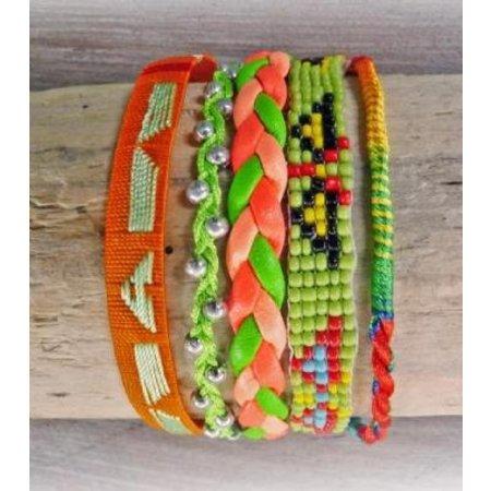 LOVE IBIZA armband Royal Orange