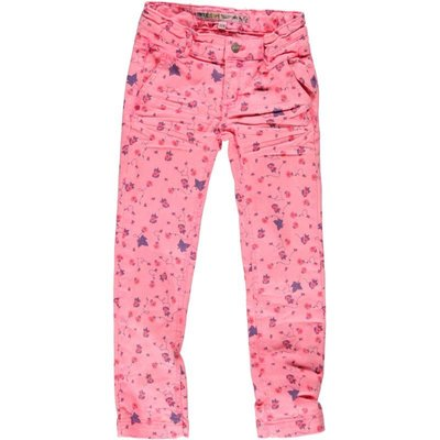 Moodstreet flashing pink jeans multiflower