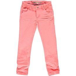 Moodstreet fluo peach pink jeans