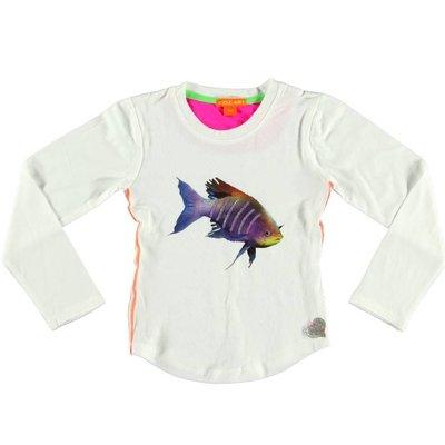 Kidz-Art longsleeve metallic fish