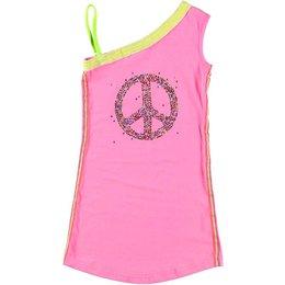Kidz-Art Asymetrisch jurkje Peace