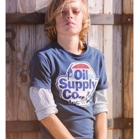 Petrol Industries shirt Oil Supply navy