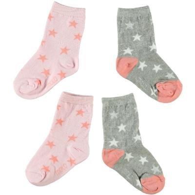 Molo twee paar sokken Cantaloupe